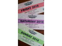 Goodwood Revival Ticket set: Friday, Saturday, Sunday (sold out)