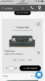 Sofolgy 3 seater sofa and love seat
