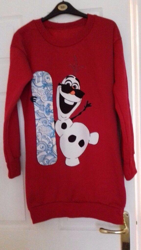 Brand new size10/12 Christmas jumper dress