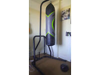 GREAT DEAL: Punch bag + stand for ONLY £75!!! LIKE NEW