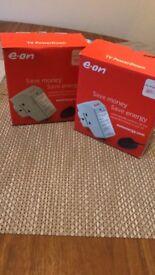 Energy saving plug E-on x2
