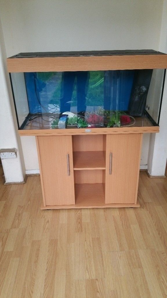 Juwel rio 180 litre fish tank and stand full tropical setup