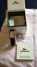 Brand new Lacoste mans watch