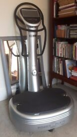 As New - MY7 Power Plate - 1 years warranty.