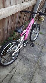 Girls mountain bike for sale