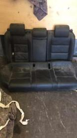 Audi A6 s line rear seats and door cards