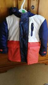 Toddler Boys Thick Winter Jacket