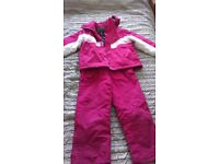 Girl's ski outfit aged 5 - 6