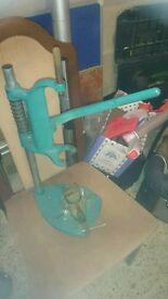 Black and decker drill press/stand