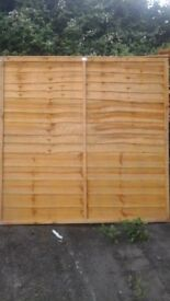 NEW FENCE PANELS AT LOW PRICES