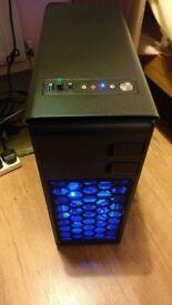 ULTRA FAST INTEL GAMING PC (I5-2400 3.3GHZ, 8GB DDR3 RAM, 500GB HDD, GTX 670)