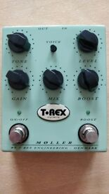T-Rex Moller Overdrive/Boost Pedal Original