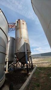16,600 Gallon Stainless Steel Vertical Tank