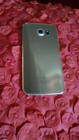 Samsung s6 gold 32gb unlockef
