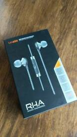 RHA MA600i - In ear headphones earphones brand new bnib unwanted
