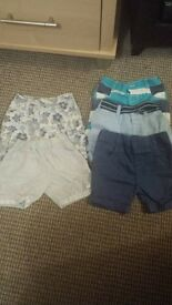 6-9 months shorts bundle
