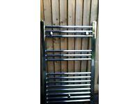 Chrome Heated Towel Rail - 800 x 500 mm