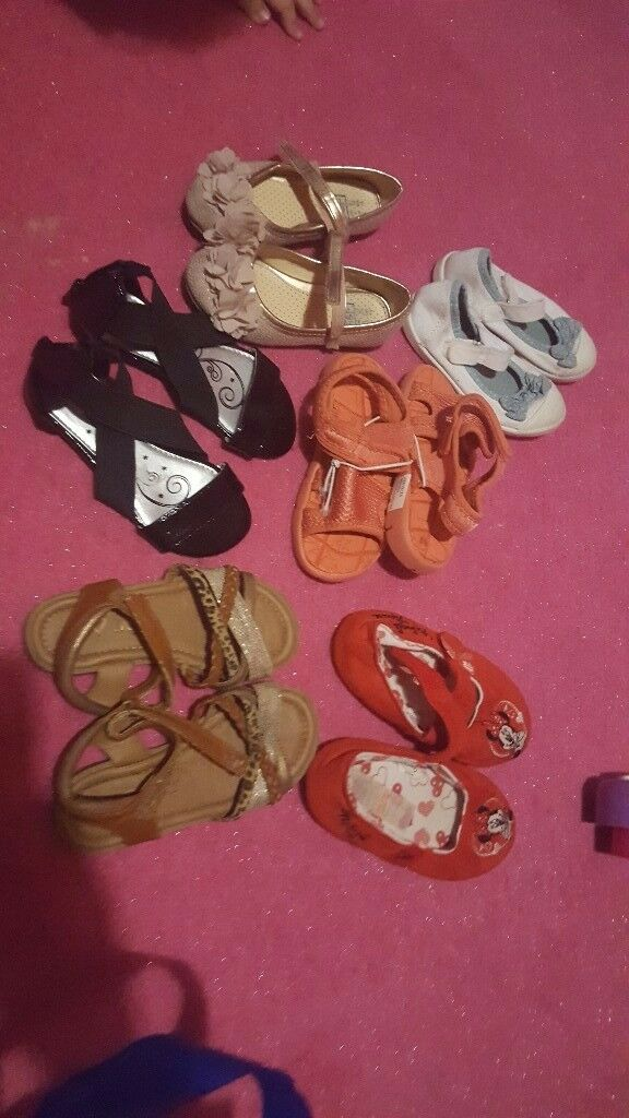 baby shoes 7,8,9