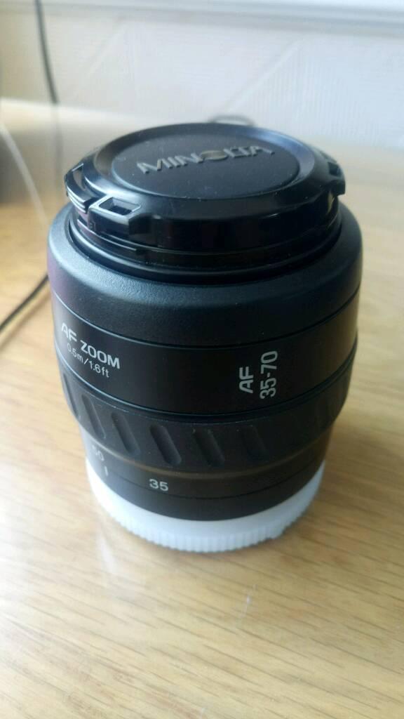 Minolta lens AF zoom AF 35 70in Leigh on Sea, EssexGumtree - Minolta lens AF zoom AF 35 70
