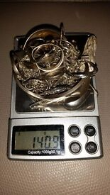 Sterling silver job lot 311.30 grams