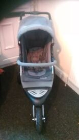 pram .mothercare xtreme with raincover used condition £40...