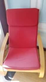 Beech rocker chair