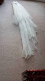 Brand new wedding veil