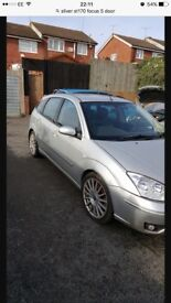 Ford Focus st170 5 door silver spares or repairs no m.o.t starts and drives