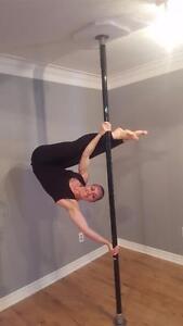 Dance Pole Statique (220$) Rotative/Statique (320$) Aucun perçage requis - Livraison Gratuite