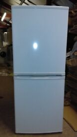 white fridge freeze 50/50 ex display