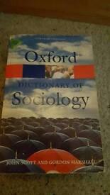 Oxford Sociology dictionary