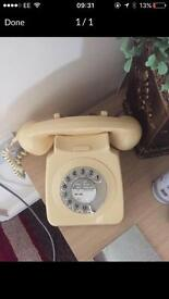 Old dial phone