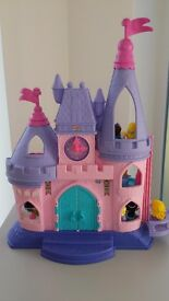 Fisher Price Little People Princess Castle and Disney Charachters