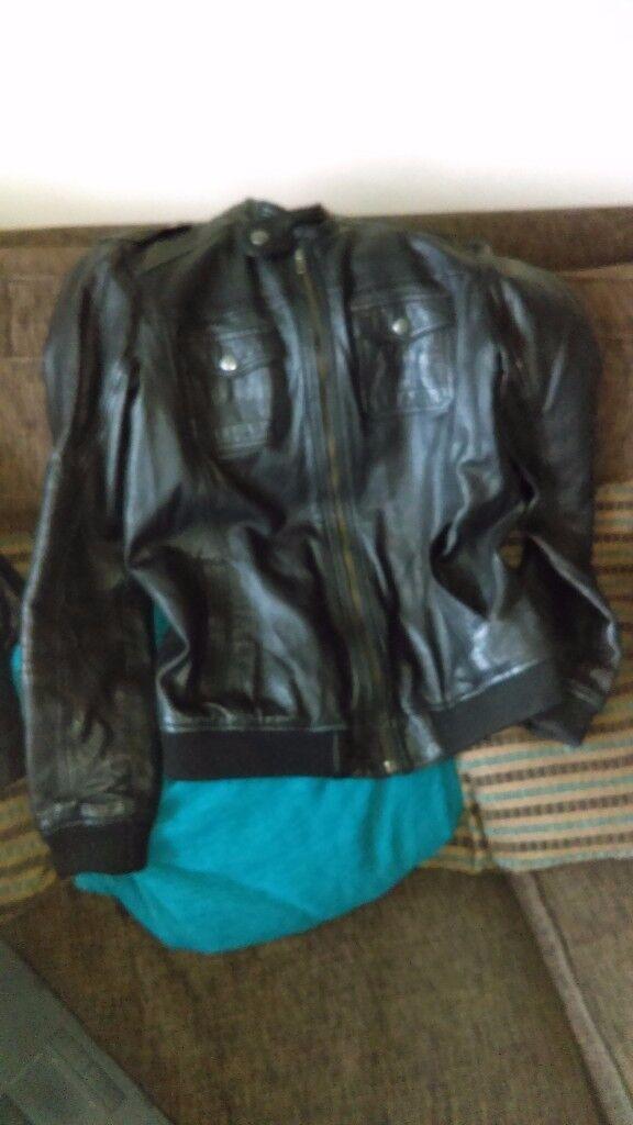 Next Boys Leather Jacket