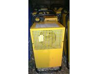 SMALL INDUSTRIAL DEHUMIDIFIER(BROUGHTON 18 LTR/PER 24 HRS DUAL VOLTAGE GOOD WORKING CONDITION