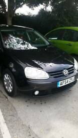 VW Golf 1.9 TDi Mk5 Black Manual