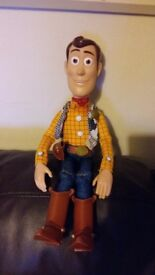 Toy story thinkway collection woody doll