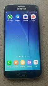 Samsung S6 32gb Black Sapphire Mobile phone