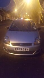 Ford fiesta automatic 1.6