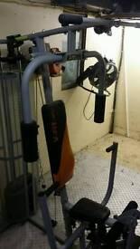 VFIT Weight machine plus Dumbells plus weight bench