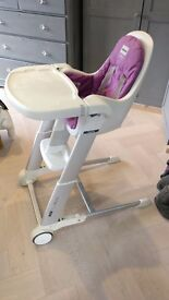 Folding high chair for sale