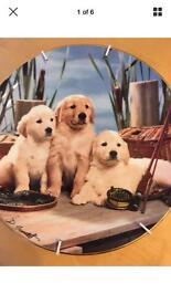 Royal doulton labrador puppies plate ReelPals