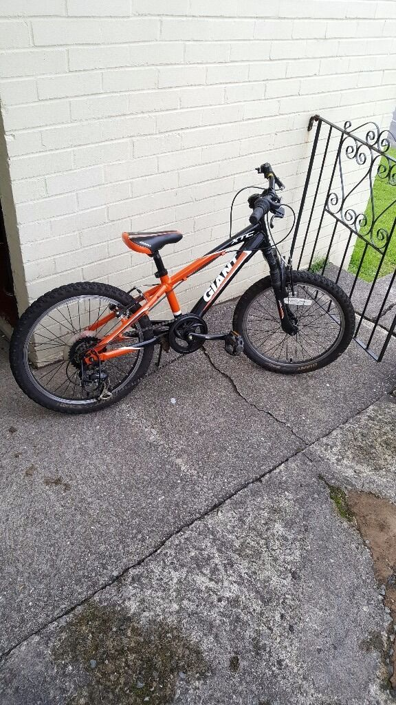 """20"""" Giant bike has got few scratches apart from that brilliant condition paid £259 sell for £110"""