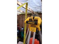 DeWALT DW075PK DW075 Cordless Self Levelling Rotary Laser horizontal and vertical with stand