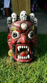 Bhairab wooden mask