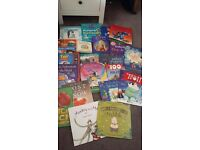 Assortment of young children's books