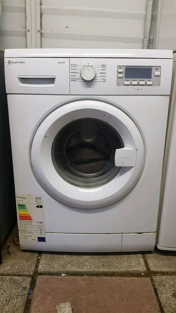 Russel Hobbs washing machine delivered and installed today
