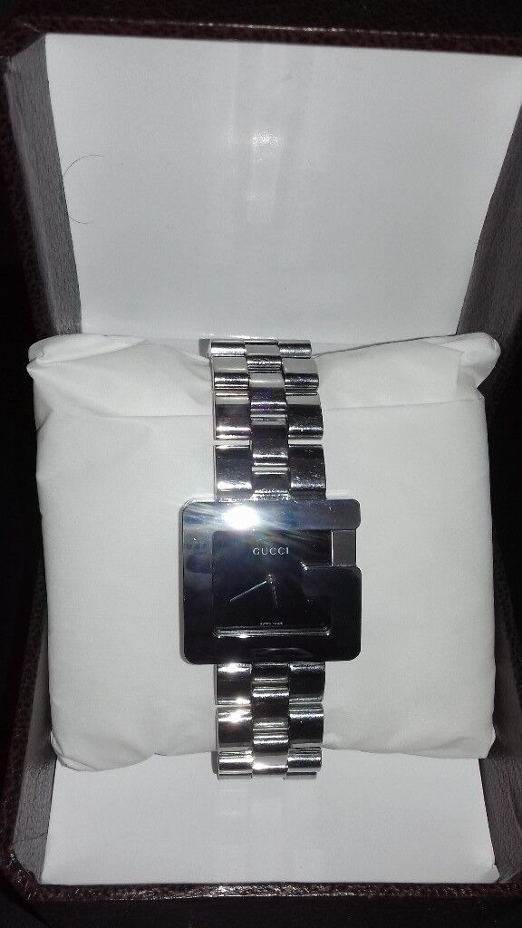 6a00f810a47 Gucci G watch Mens Stainless Steal Model 3600m