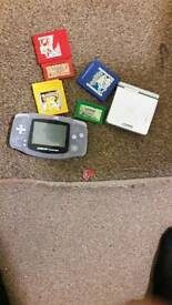 Gameboy and games bundle