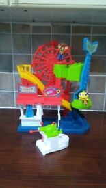 Disney Imaginext TOY STORY 4 Carnival Fairground Set with figures